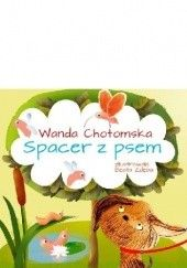 Okładka książki Spacer z psem Wanda Chotomska