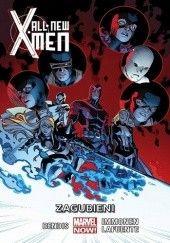 Okładka książki All-New X-Men: Zagubieni Brian Michael Bendis,Marte Gracia,Stuart Immonen,David Lafuente,Rain Beredo,Wade von Grawbadger,James Campbell