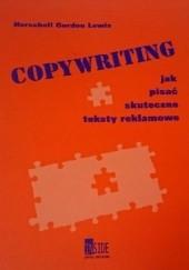 Okładka książki Copywriting. Jak napisać skuteczne teksty reklamowe