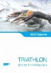 Okładka książki Triathlon plany treningowe Matt Fitzgerald