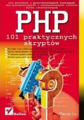 Okładka książki PHP. 101 praktycznych skryptów Marcin Lis