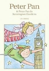 Okładka książki Peter Pan & Peter Pan in Kensington Gardens J.M. Barrie