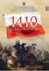 Okładka książki 1410 Koronowo Piotr Derdej