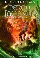 Okładka książki Morze Potworów Rick Riordan