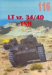Okładka książki LT vz. 34-40 TNH Janusz Ledwoch