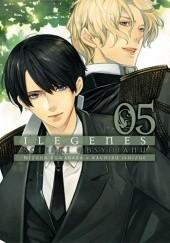 Okładka książki Ilegenes. Ścieżki obsydianu #5 Mizuna Kuwabara,Kachiru Ishizue
