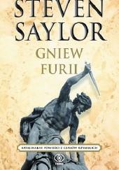 Okładka książki Gniew Furii Steven Saylor