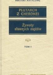 Okładka książki Żywoty sławnych mężów Plutarch