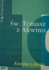 Okładka książki Kwestia o duszy Tomasz z Akwinu