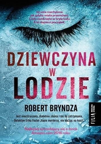 Okładka książki Dziewczyna w lodzie Robert Bryndza