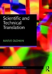 Okładka książki Scientific and Technical Translation Maeve Olohan