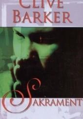 Okładka książki Sakrament Clive Barker