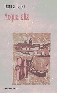 Okładka książki Acqua alta Donna Leon