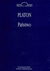 Okładka książki Państwo Platon