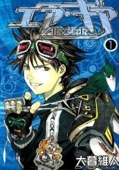 Okładka książki Air Gear 1 Ito Oogure