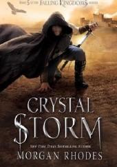 Okładka książki Crystal Storm Morgan Rhodes