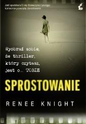 Okładka książki Sprostowanie Renée Knight