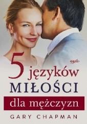 Okładka książki 5 języków miłości dla mężczyzn Gary Chapman