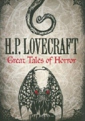 Okładka książki Great Tales of Horror H.P. Lovecraft