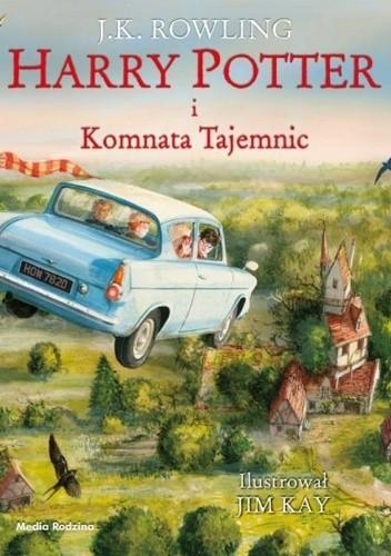 Okładka książki Harry Potter i Komnata Tajemnic (Wydanie ilustrowane) J.K. Rowling