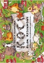 Okładka książki Koci blok rysunkowy Nikola Kucharska