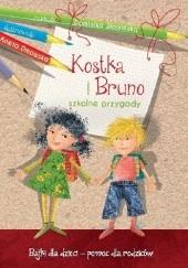 Okładka książki Kostka i Bruno. Szkolne przygody Dominika Słomińska
