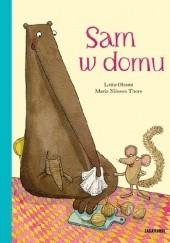 Okładka książki Sam w domu Lotta Olsson