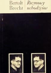 Okładka książki Rozmowy uchodźców Bertolt Brecht