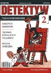 Okładka książki DETEKTYW Tylko historie prawdziwe 354 (02/2016) Redakcja Magazynu DETEKTYW