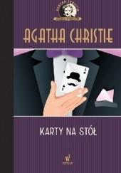 Okładka książki Karty na stół Agatha Christie