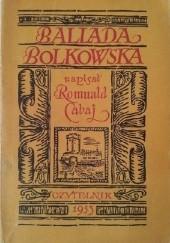 Okładka książki Ballada Bolkowska Romuald Cabaj