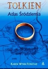 Okładka książki Atlas Śródziemia Karen Wynn Fonstad