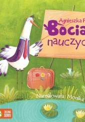 Okładka książki Bocian nauczyciel Agnieszka Frączek