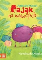 Okładka książki Pająk na wakacjach Agnieszka Frączek
