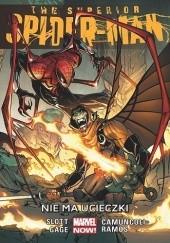 Okładka książki The Superior Spider-Man: Nie ma ucieczki Christos Gage,Dan Slott,Humberto Ramos,Giuseppe Camuncoli