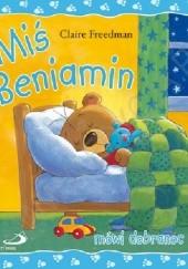 Okładka książki Miś Beniamin mówi dobranoc Claire Freedman