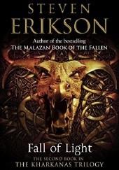 Okładka książki Fall of Light Steven Erikson
