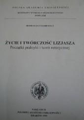 Okładka książki Życie i twórczość Lizjasza. Początki praktyki i teorii retorycznej Romuald Turasiewicz