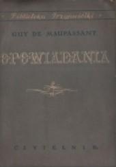 Okładka książki Opowiadania Guy de Maupassant