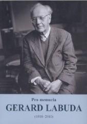 Okładka książki Pro memoria. Gerard Labuda (1916-2010) Józef Borzyszkowski