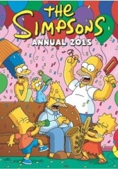 Okładka książki The Simpsons - Annual 2015 praca zbiorowa,Matt Abram Groening,Joseph Torres,John Delaney