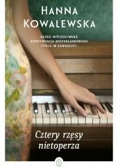 Okładka książki Cztery rzęsy nietoperza Hanna Kowalewska