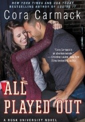 Okładka książki All Played Out Cora Carmack