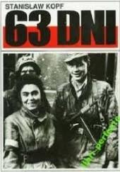 Okładka książki 63 dni Stanisław Kopf