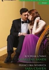 Okładka książki Kocham Adama. Francuska winnica Charlene Sands,Sara Craven