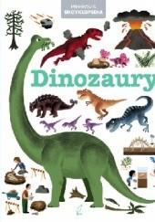 Okładka książki Pierwsza encyklopedia. Dinozaury praca zbiorowa