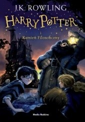 Okładka książki Harry Potter i Kamień Filozoficzny J.K. Rowling