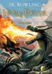 Okładka książki Harry Potter i Czara Ognia J.K. Rowling
