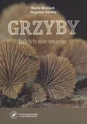 Okładka książki Grzyby jakich nie znamy Marta Wrzosek,Zbigniew Sierota