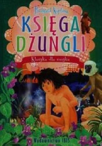 Okładka książki Księga dżunglii Rudyard Kipling